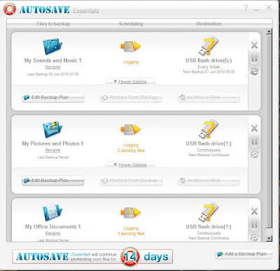 AUTO SAVE YOUR FILES