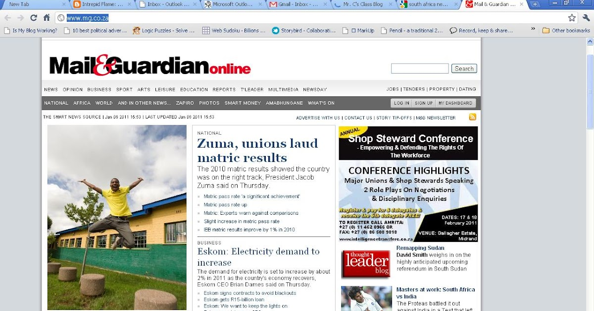 mail and guardian dating