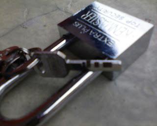 Hati-hati Pilih Kunci yang mengaku TOP SECURITY