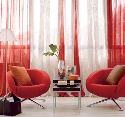 Colores para Decorar Cortinas para salones en funcin del color de las paredes