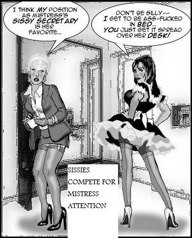 sissy humiliation art