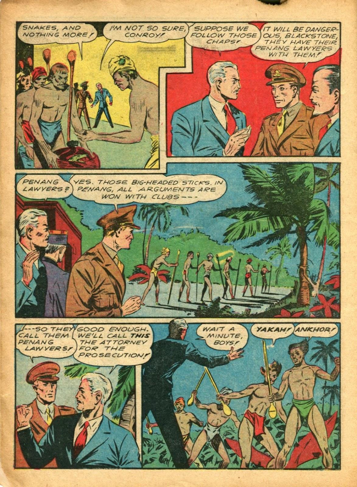 Read online Super-Magician Comics comic -  Issue #5 - 10