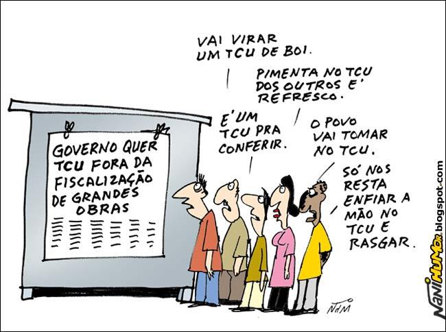 Dilma nas garras do TCU