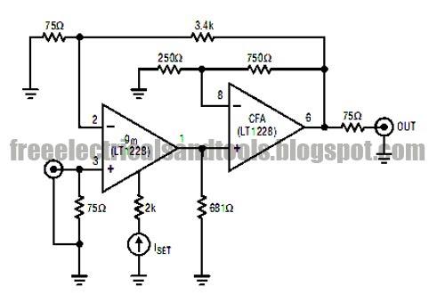 wiring diagram for car: Video Limiter Circuit