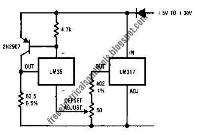 current loop transmitter circuit for temperature sensor