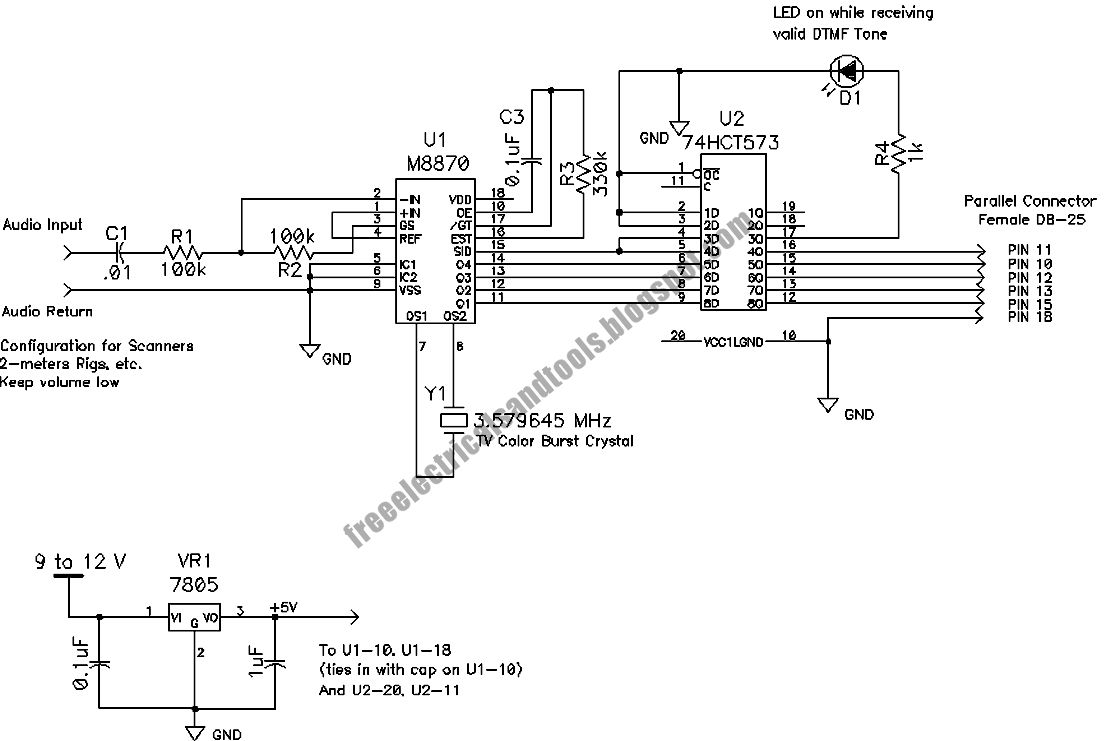 dtmf decoder ic mt8870 pin diagram dot for nickel circuit schematic wiring gw schwabenschamanen de u2022 tone