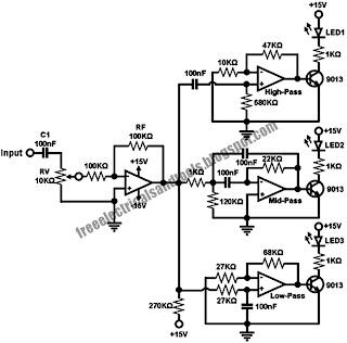 Identify diagram: Sound to Dancing Lights Converter Circuit