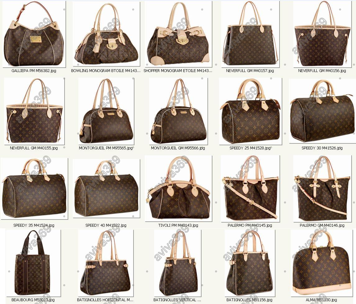 Louis Vuitton Handbag Styles