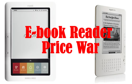 Kindle Vs Sony Reader: $189 Kindle 2 Vs. $149 WiFi-only Nook, 3G Price Dropped To