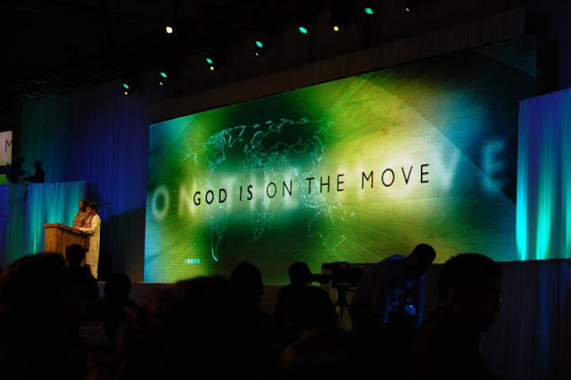 god on the move
