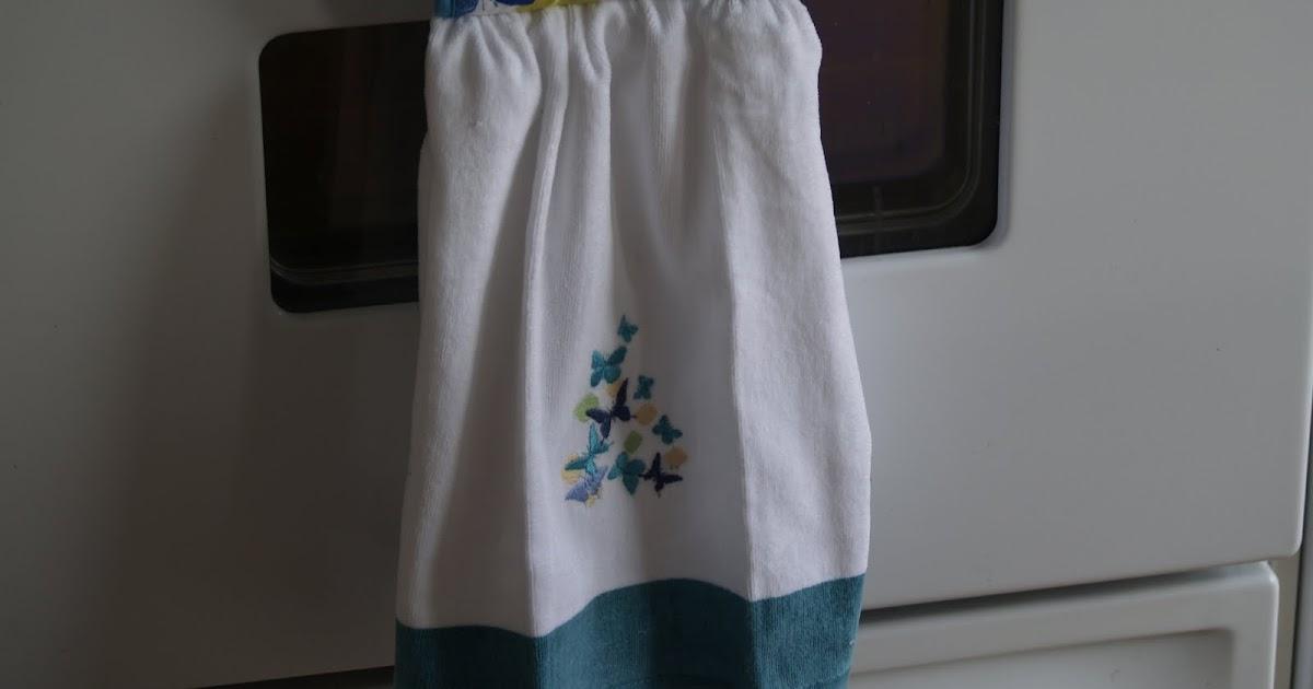 Kitchen Towel Holder Over Door