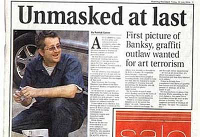 The Ratner Gazette: Banksy Identified