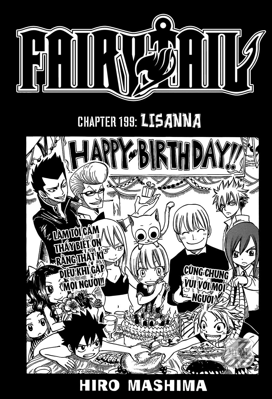 Fairy Tail chap 199 trang 2