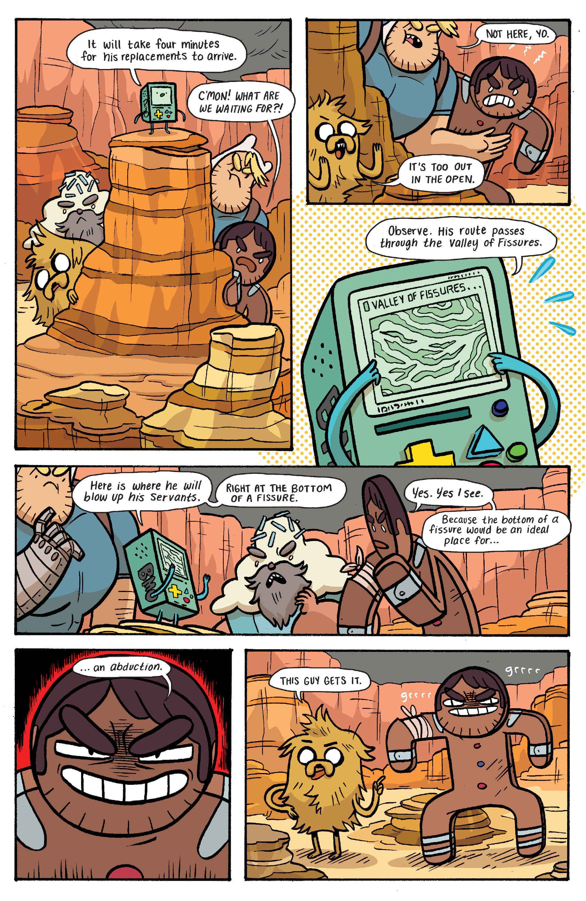 Read online Adventure Time: Banana Guard Academ comic -  Issue #6 - 9