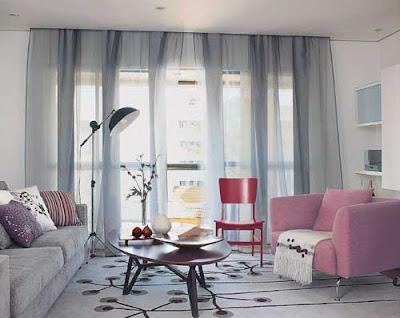cortina para sala classica