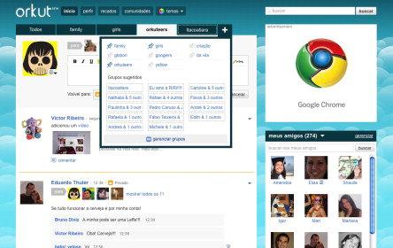 Entenda o novo Grupos de Amigos no Orkut