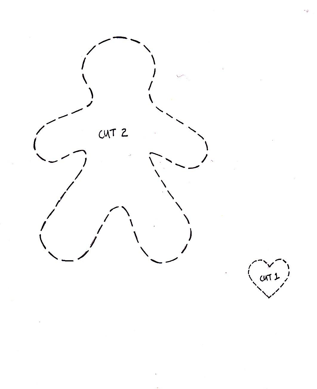 Cupcake Cutie: Free Christmas Felt Ornament Pattern