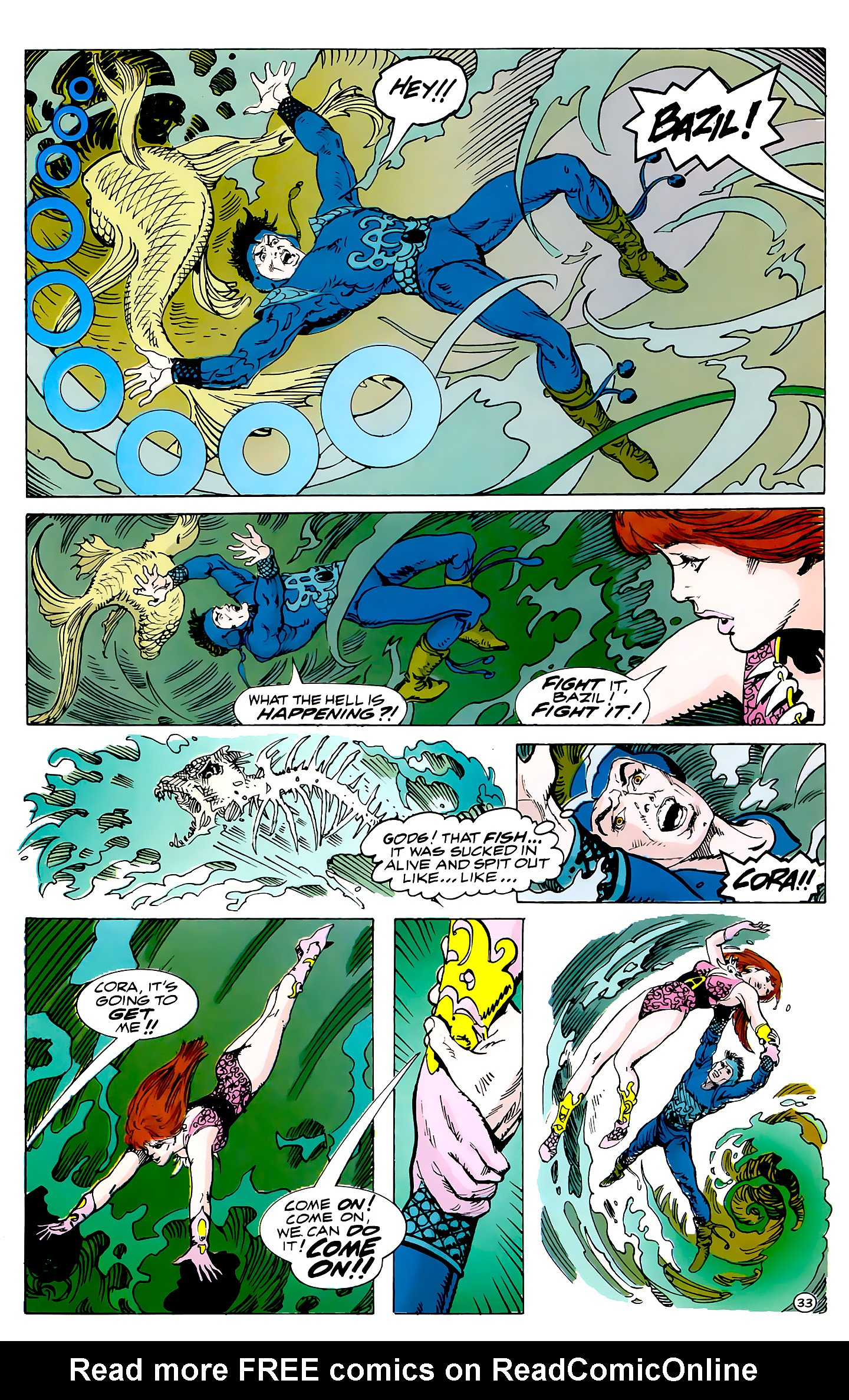 Read online Atlantis Chronicles comic -  Issue #3 - 33
