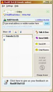 Rediffmail chat messenger free download.