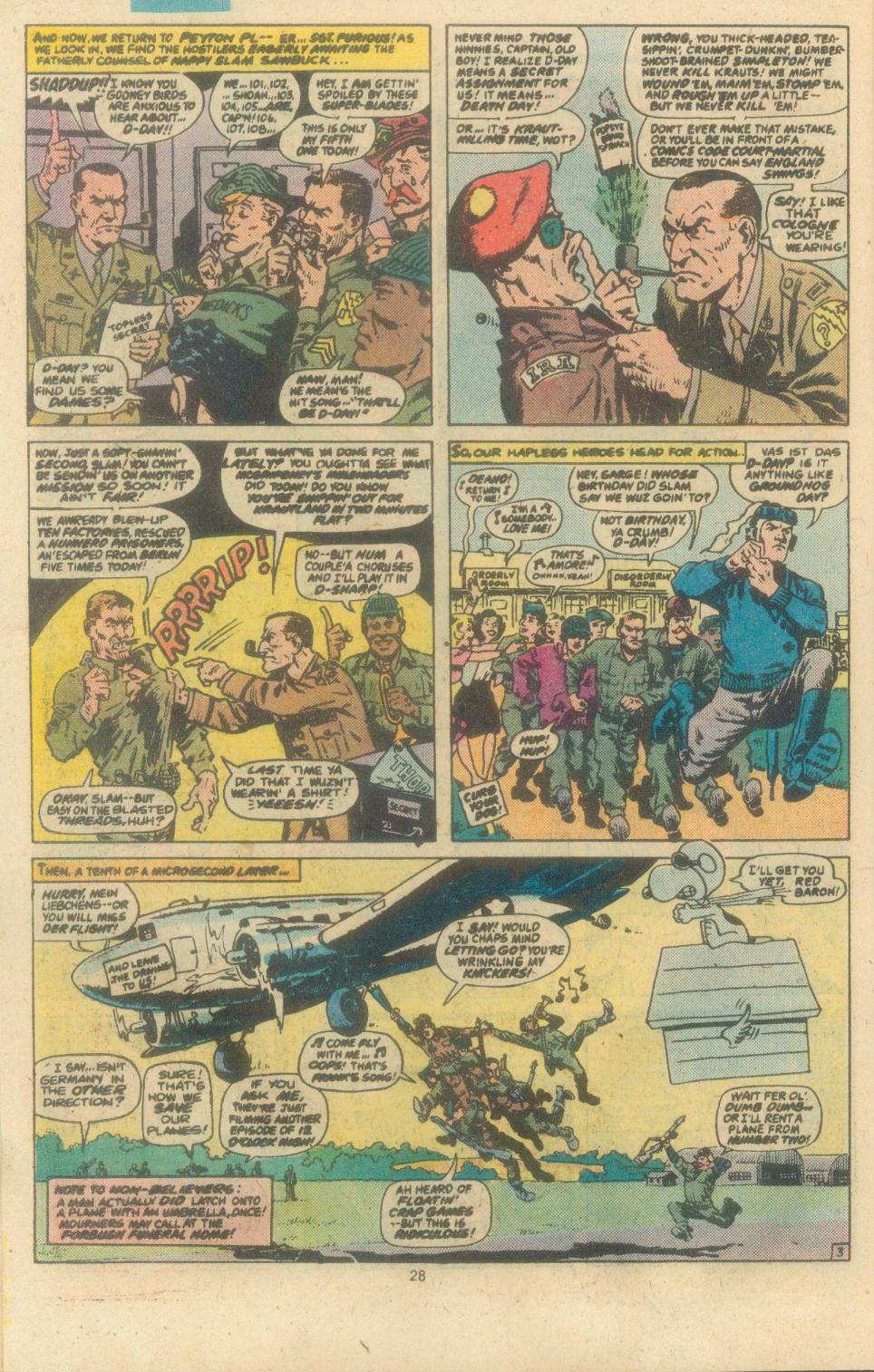 Read online Sgt. Fury comic -  Issue #162 - 30