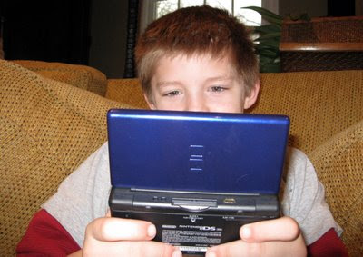 thing 2 with nintendo ds