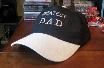 world's greatest dad hat