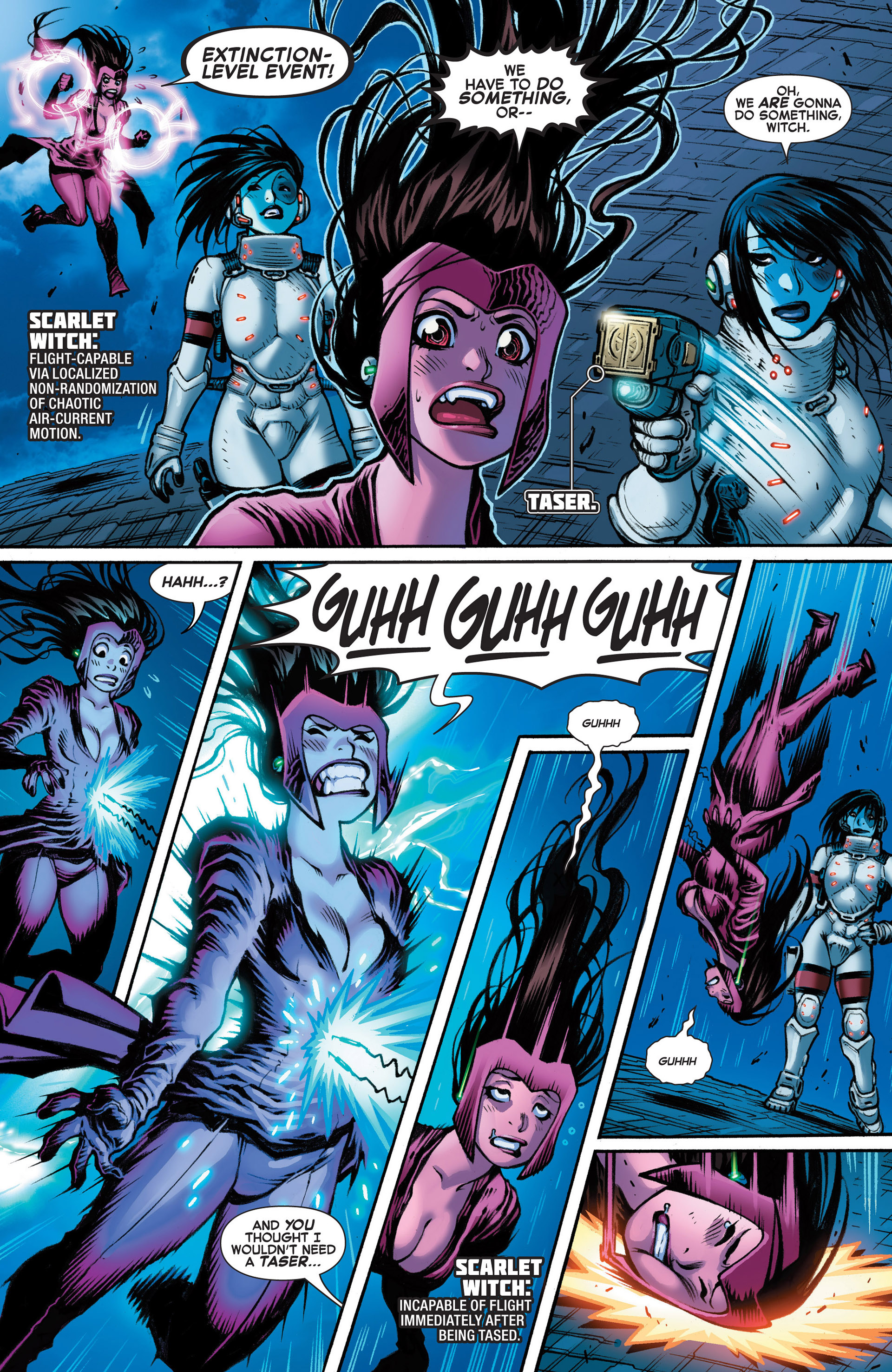 Read online A X comic -  Issue #10 - 21