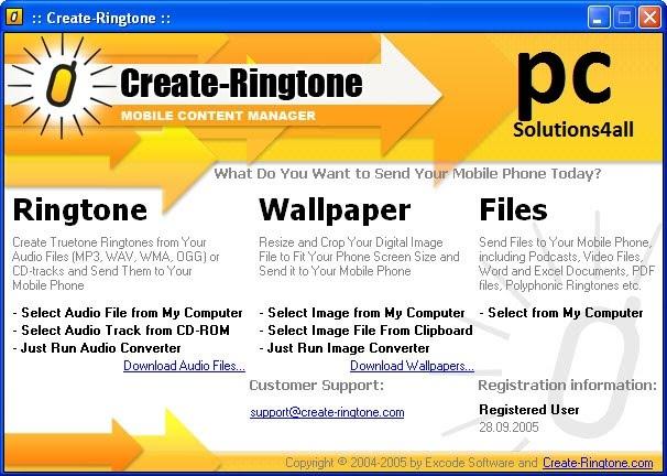 Create Ringtone 5 0 1 0 Software + Crack ~ Tin nóng