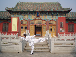 Sifu Nelson in Xin Hui / China