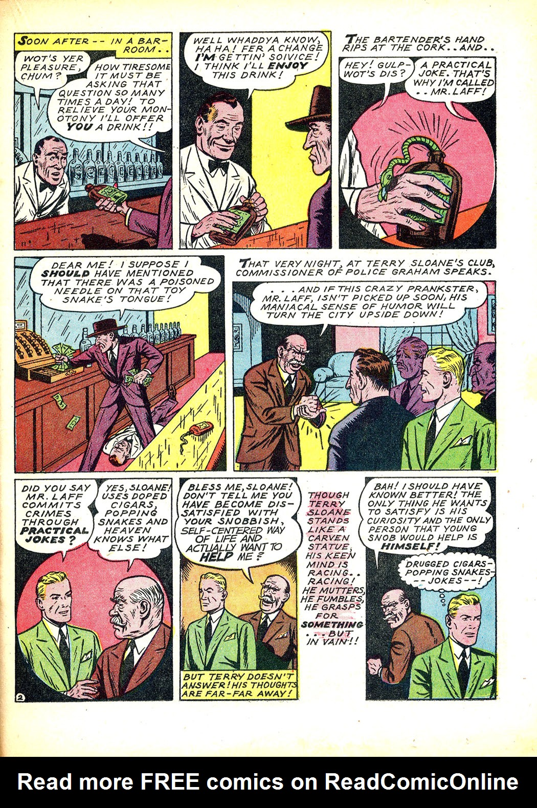Read online Sensation (Mystery) Comics comic -  Issue #12 - 37