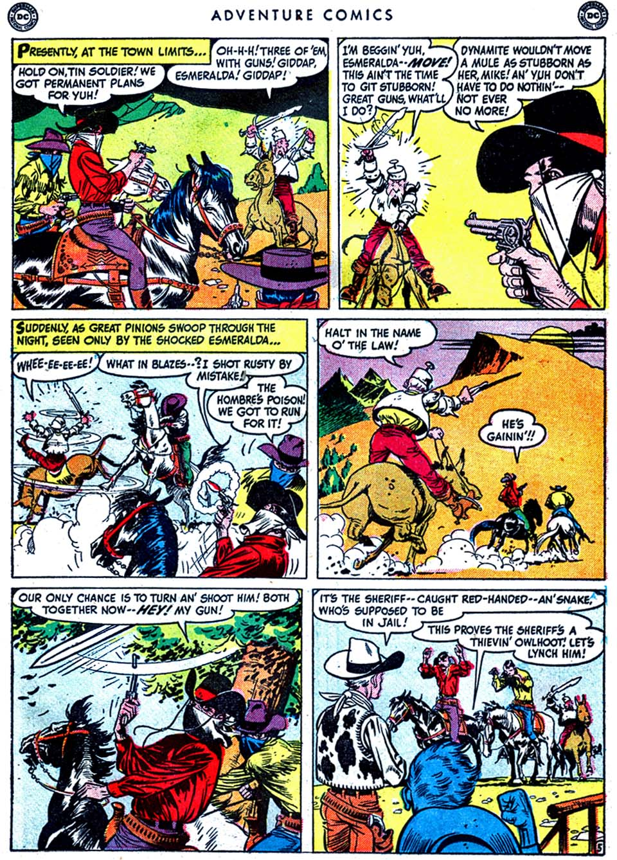 Read online Adventure Comics (1938) comic -  Issue #163 - 21