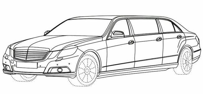 Luxury Cars: Scoop : premiers croquis de la Classe E