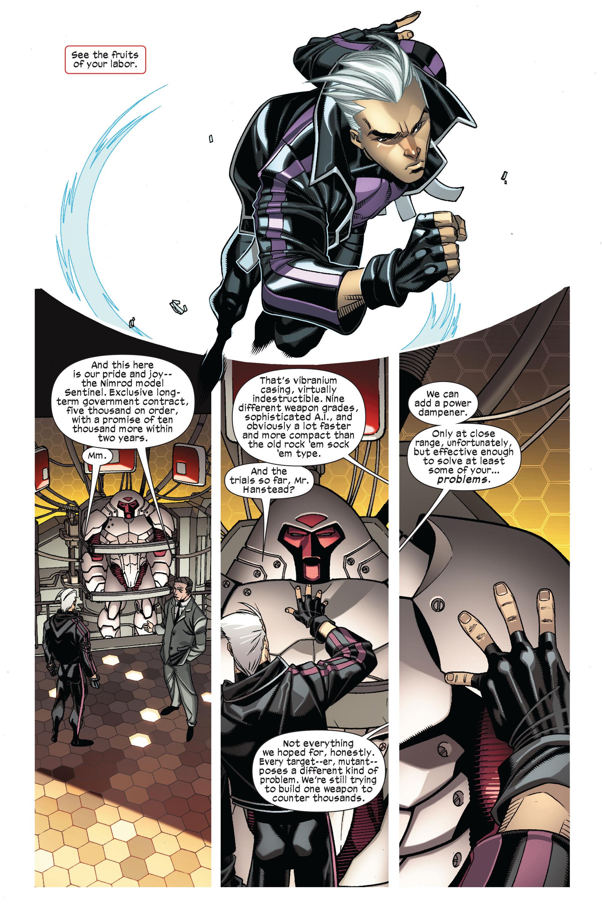 Read online Ultimate Comics X-Men comic -  Issue #7 - 5
