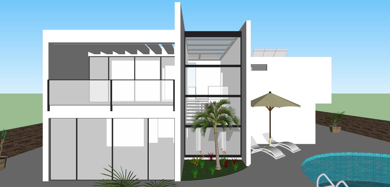 sketchup modern house design : brightchat.co