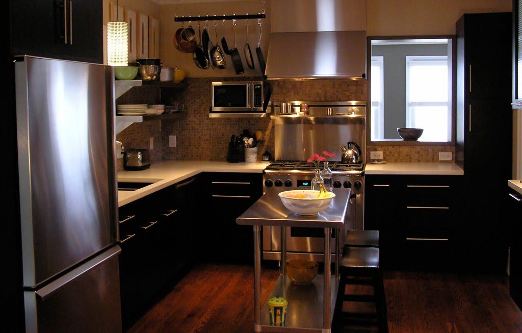 Cocinas negras antioquia deco for Colocar muebles de cocina