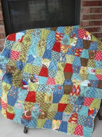 Hubby's Quilt