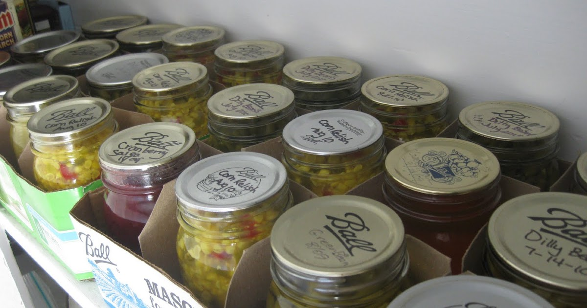 The Blueberry Files How to Store Home Canned Goods