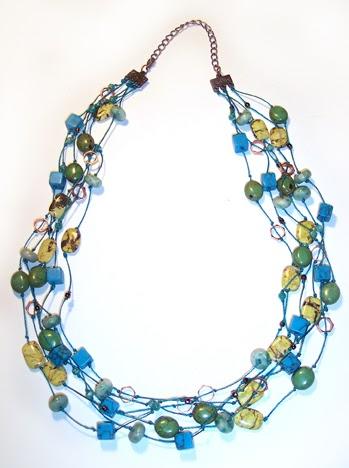 Sunlit Seas necklace