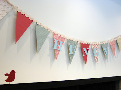 The Alexanders Red And Aqua Baby Shower