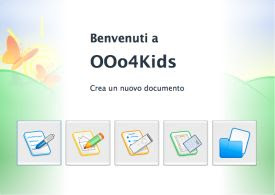 open office per bambini