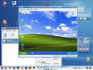 Windows xp dentro linux