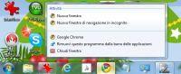 Modifica Funzioni della barra applicazioni di Windows 10 e 7