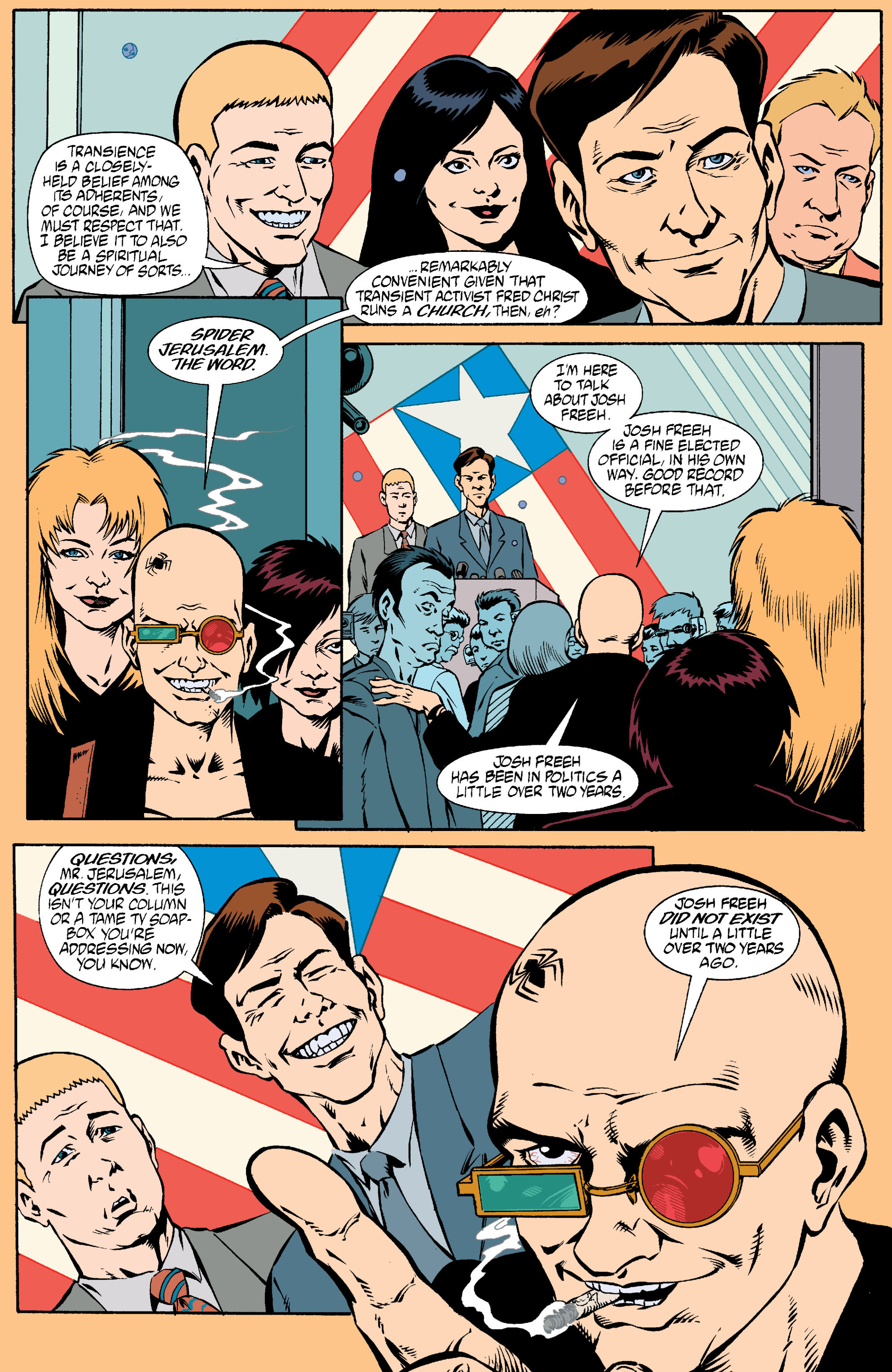 Read online Transmetropolitan comic -  Issue #18 - 14