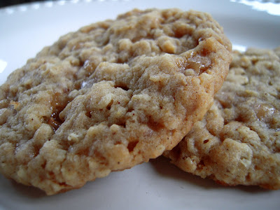 Amazing Hard Boiled Egg Oatmeal Toffee Cookies