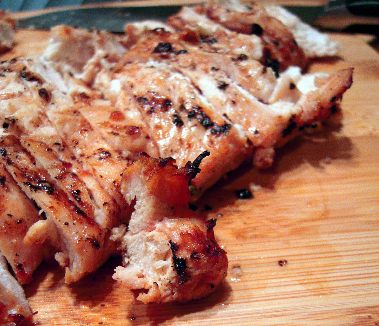 Grilled Chicken Fajitas Plain Chicken