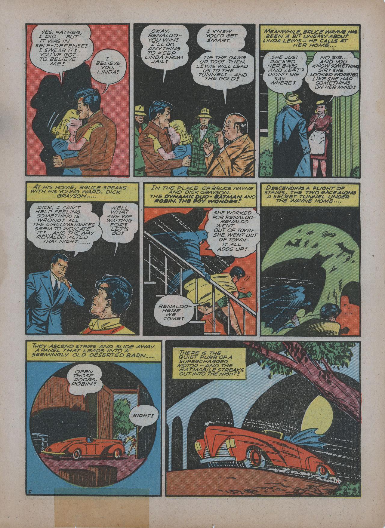 Read online Detective Comics (1937) comic -  Issue #48 - 7