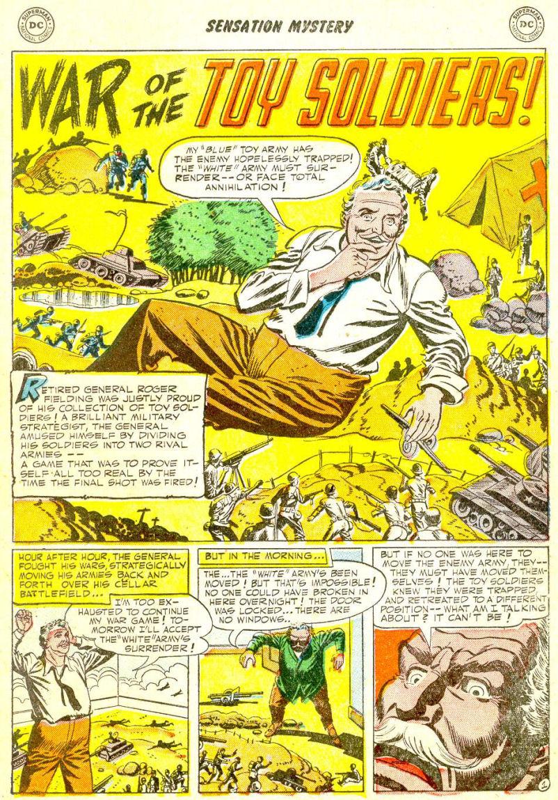 Read online Sensation (Mystery) Comics comic -  Issue #111 - 13