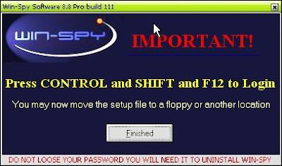 Winspy keylogger to hack gmail account password