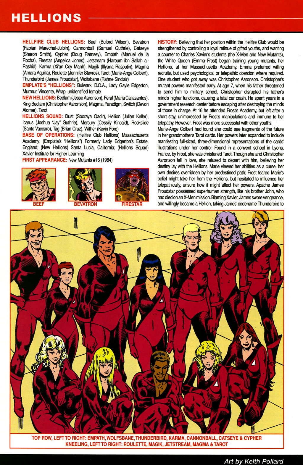 Read online All-New Official Handbook of the Marvel Universe A to Z comic -  Issue #5 - 22