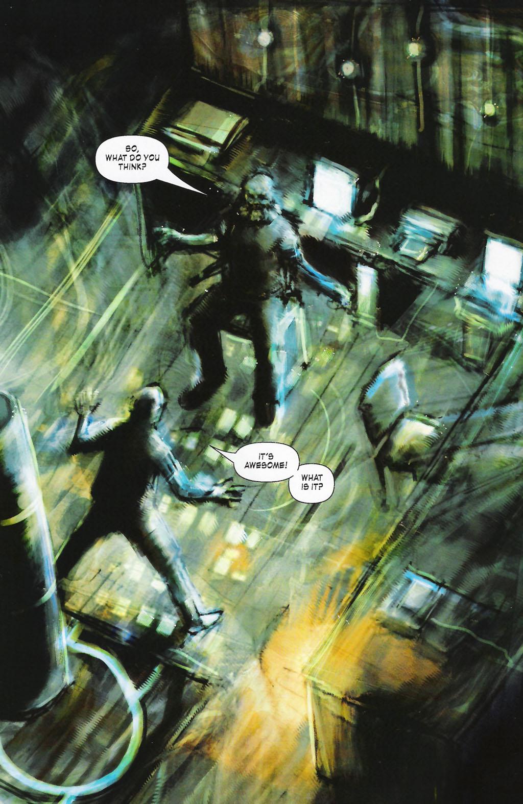 Read online ShadowHawk (2005) comic -  Issue #7 - 4